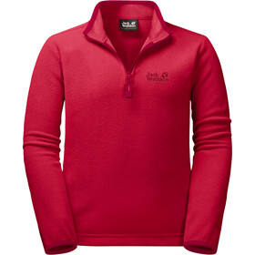 Jack Wolfskin Gecko Fleece Trui Kinderen, red lacquer